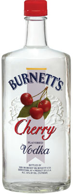 Burnetts Vodka Cherry